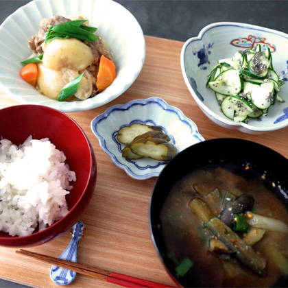 Ikoma yukiko cooking class ikoma yukiko in this class you can learn the basic of japanese cooking we will cook rice in a pot miso soup a main dish and a side dish forumfinder Gallery